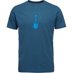 Black Diamond Idea Maglietta a maniche corte Uomo, blu